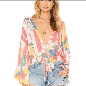 Free People That's  A Wrap Top